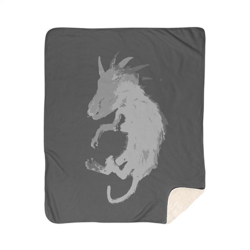 La Blancocabra Home Sherpa Blanket Blanket by Michael Dominguez-Beddome's Shop