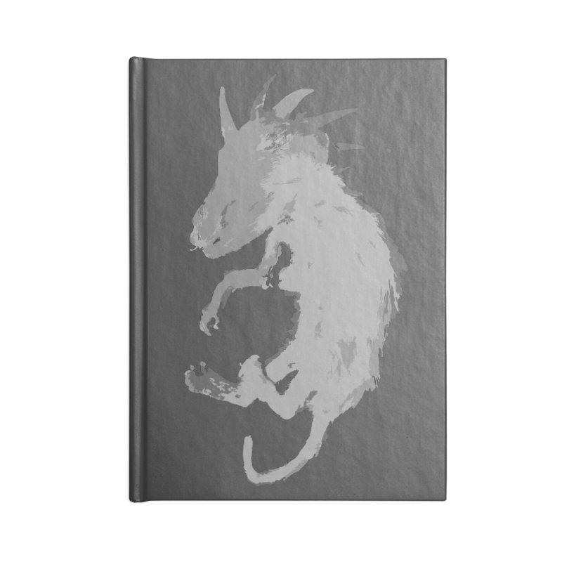 La Blancocabra Accessories Blank Journal Notebook by Michael Dominguez-Beddome's Shop
