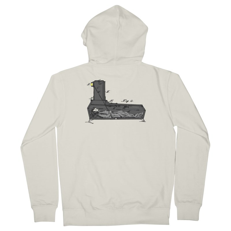 Ring My Bell Men's French Terry Zip-Up Hoody by Michael Dominguez-Beddome's Shop