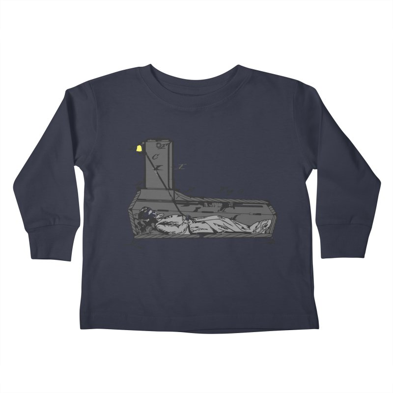 Ring My Bell Kids Toddler Longsleeve T-Shirt by Michael Dominguez-Beddome's Shop
