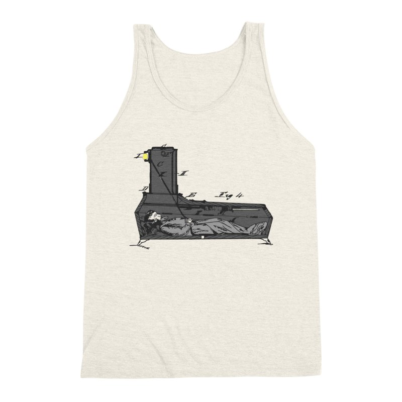 Ring My Bell Men's Triblend Tank by Michael Dominguez-Beddome's Shop