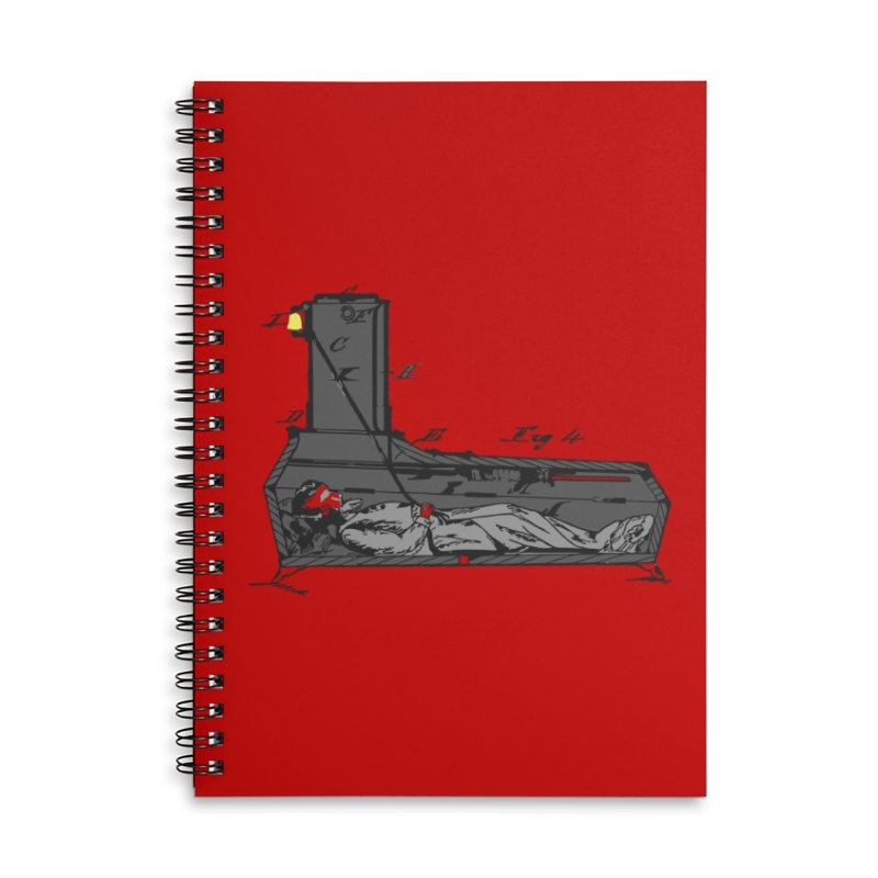 Ring My Bell Accessories Lined Spiral Notebook by Michael Dominguez-Beddome's Shop