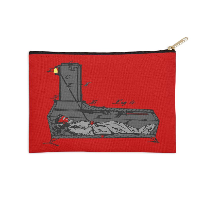 Ring My Bell Accessories Zip Pouch by Michael Dominguez-Beddome's Shop
