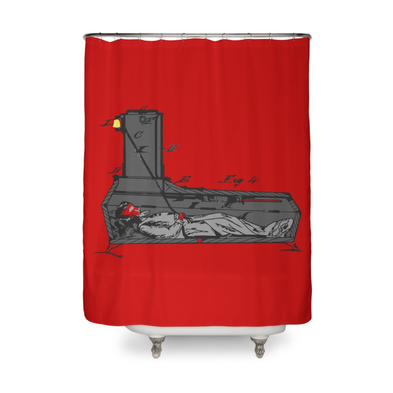 Ring My Bell Home Shower Curtain by Michael Dominguez-Beddome's Shop