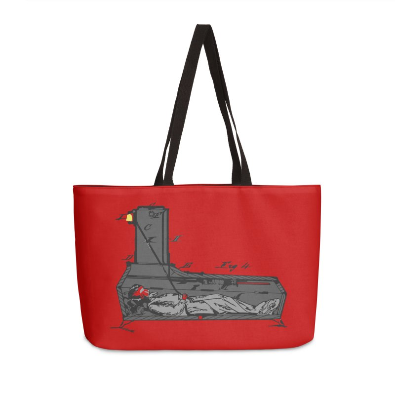 Ring My Bell Accessories Weekender Bag Bag by Michael Dominguez-Beddome's Shop