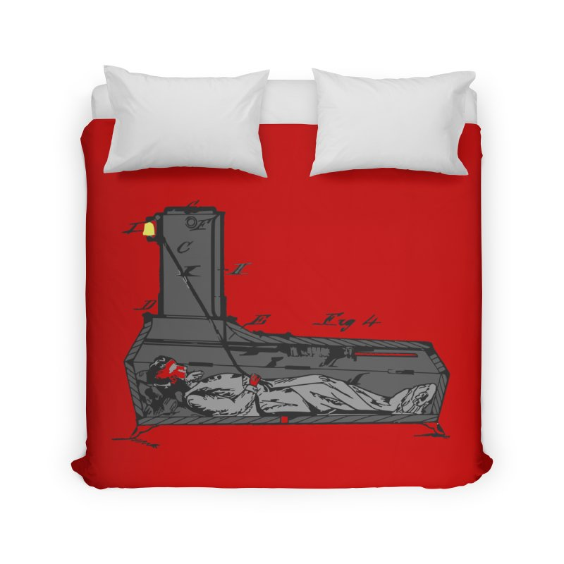 Ring My Bell Home Duvet by Michael Dominguez-Beddome's Shop
