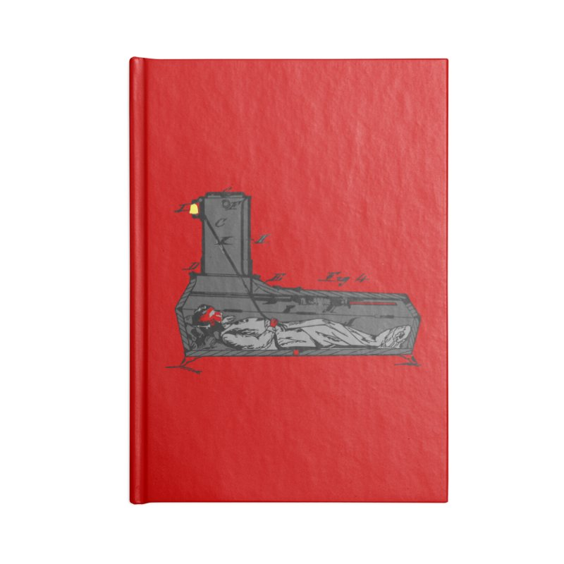 Ring My Bell Accessories Lined Journal Notebook by Michael Dominguez-Beddome's Shop