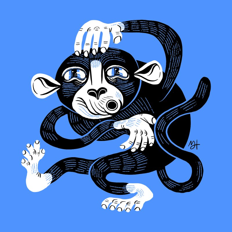 Monkey Me by Michael J Hildebrand's Artist Shop