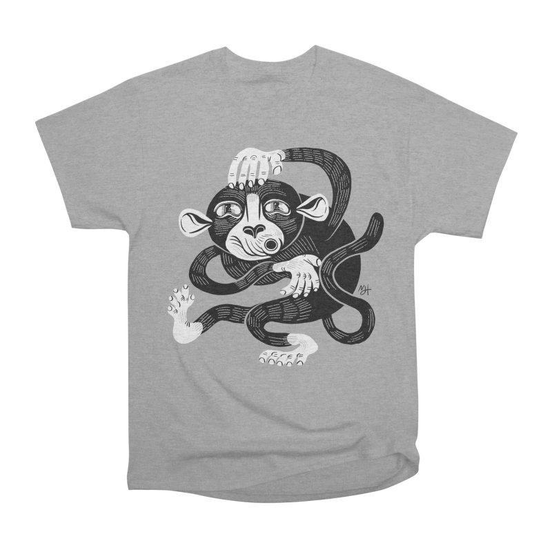 Monkey Me Women's Heavyweight Unisex T-Shirt by Michael J Hildebrand's Artist Shop
