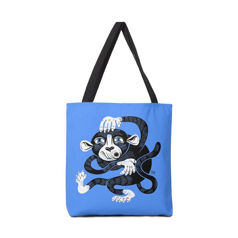 Monkey Me Accessories Tote Bag Bag by Michael J Hildebrand's Artist Shop