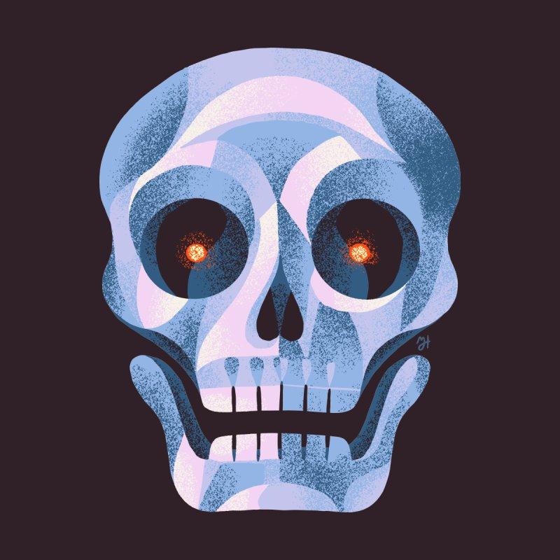 Spoooky Skull by Michael J Hildebrand's Artist Shop