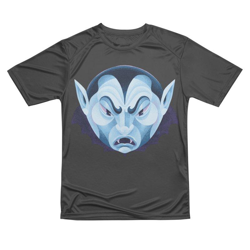 Spoooky Vampire Men's Performance T-Shirt by Michael J Hildebrand's Artist Shop