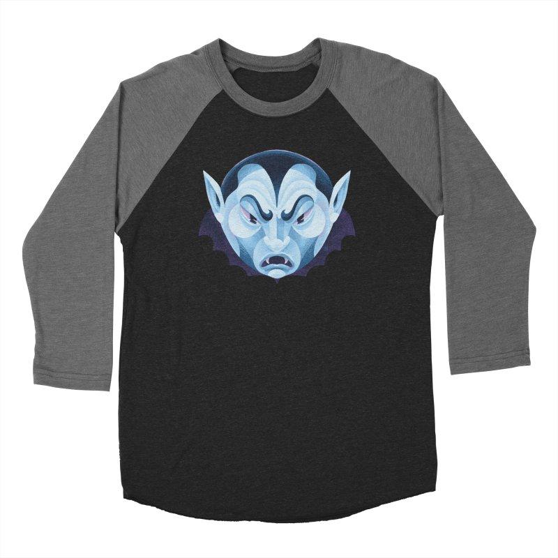 Spoooky Vampire Women's Longsleeve T-Shirt by Michael J Hildebrand's Artist Shop