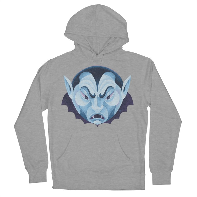Spoooky Vampire Women's French Terry Pullover Hoody by Michael J Hildebrand's Artist Shop