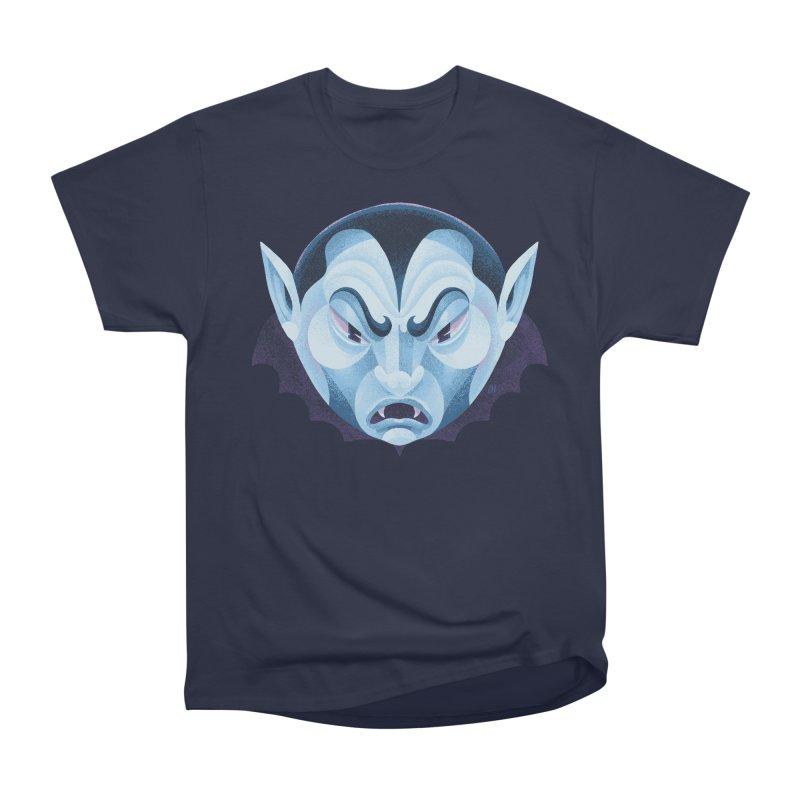 Spoooky Vampire Women's Heavyweight Unisex T-Shirt by Michael J Hildebrand's Artist Shop
