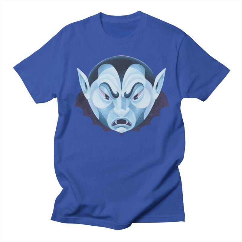 Spoooky Vampire Men's Regular T-Shirt by Michael J Hildebrand's Artist Shop