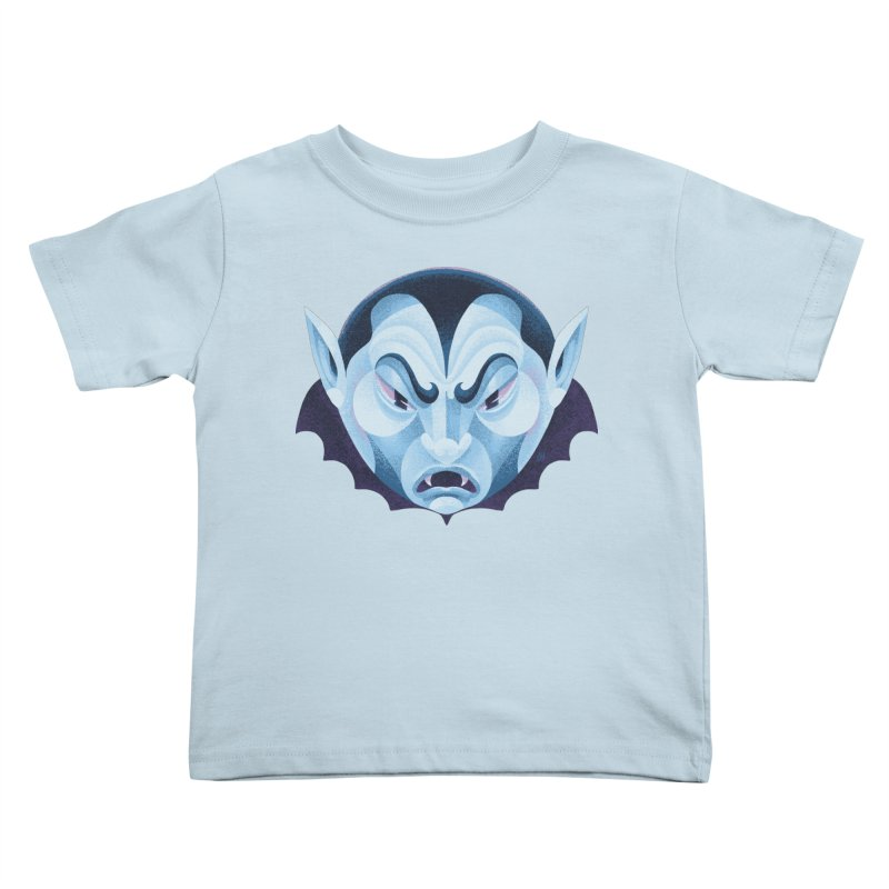 Spoooky Vampire Kids Toddler T-Shirt by Michael J Hildebrand's Artist Shop