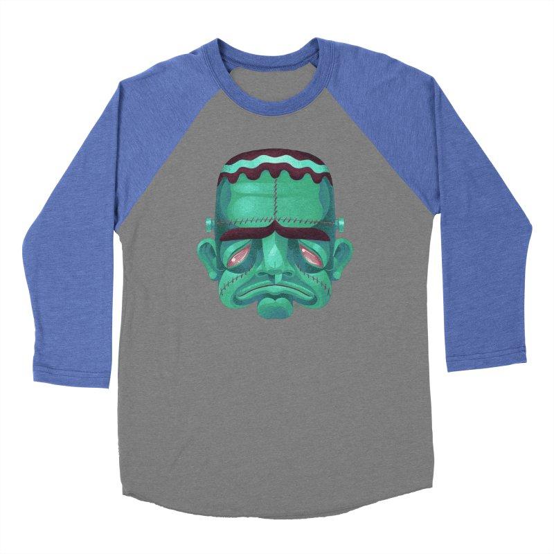 Spoooky Frank Women's Longsleeve T-Shirt by Michael J Hildebrand's Artist Shop