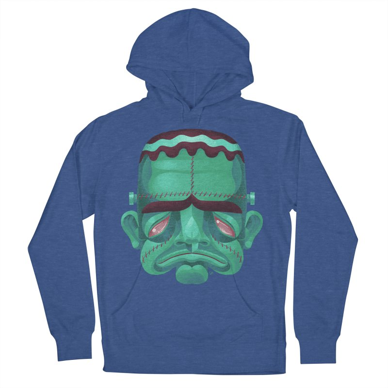 Spoooky Frank Women's French Terry Pullover Hoody by Michael J Hildebrand's Artist Shop