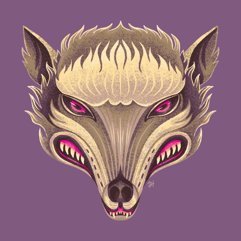 Spoooky Wolfman by Michael J Hildebrand's Artist Shop