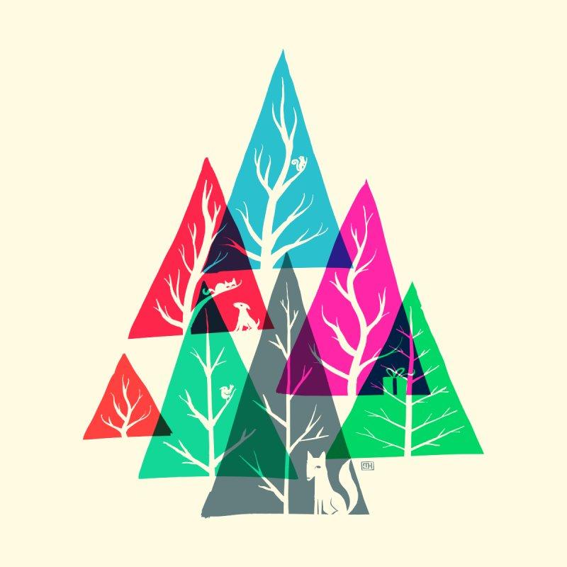 Tree Gathering (day) by Michael J Hildebrand's Artist Shop