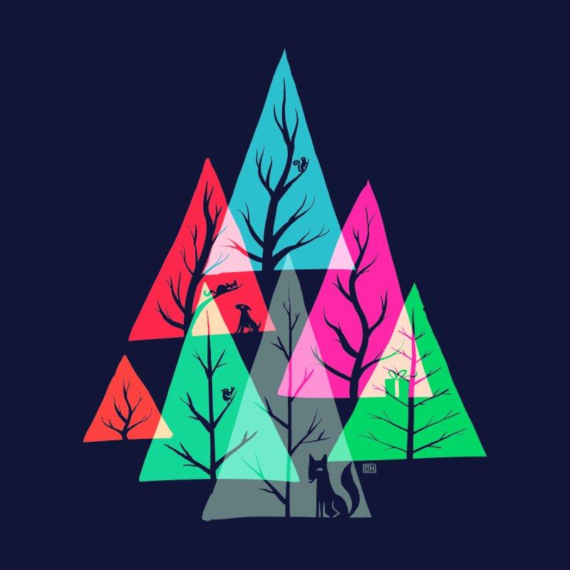 Tree Gathering (night) by Michael J Hildebrand's Artist Shop