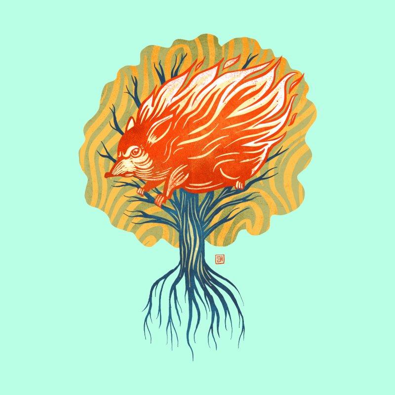 My Back Is On Fire! (5 word v8) Men's T-Shirt by Michael J Hildebrand's Artist Shop