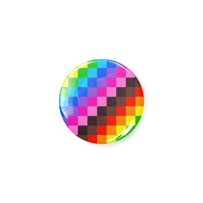 PRIDE 2020 (square) Accessories Button by Michael J Hildebrand's Artist Shop