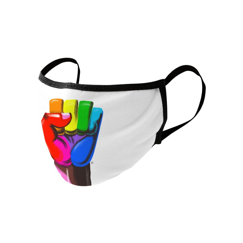 Stand For Each Other, Together Accessories Face Mask by Michael J Hildebrand's Artist Shop