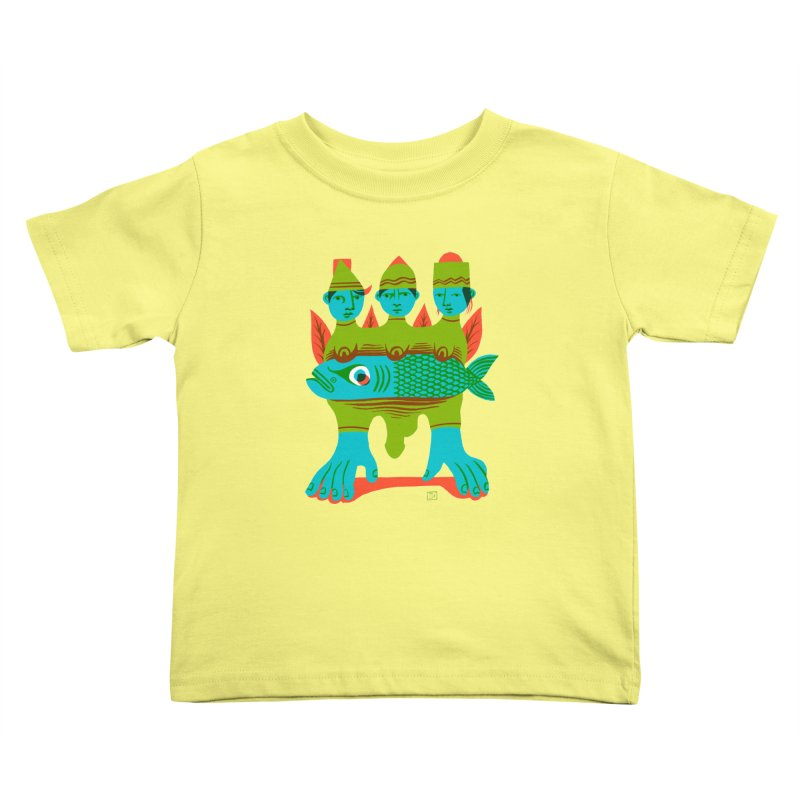 Fishers of Men Kids Toddler T-Shirt by michaeljhildebrand's Artist Shop