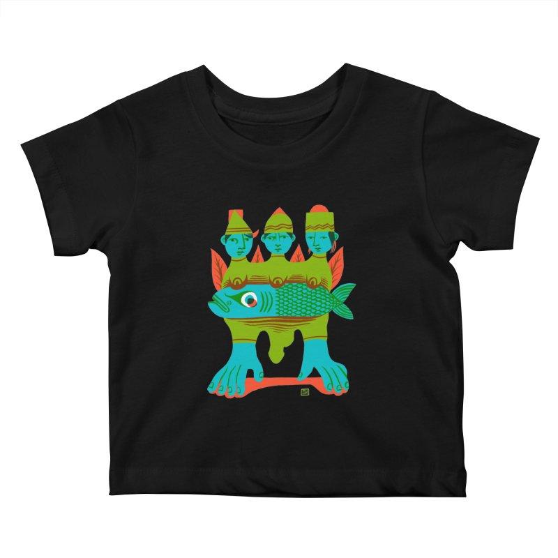 Fishers of Men Kids Baby T-Shirt by michaeljhildebrand's Artist Shop