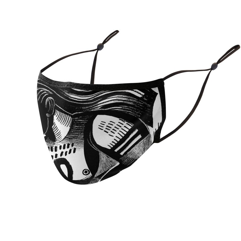 Wild & Beast: Grounded Accessories Face Mask by Michael J Hildebrand's Artist Shop