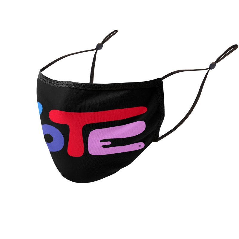 VOTE (2020) Accessories Face Mask by Michael J Hildebrand's Artist Shop