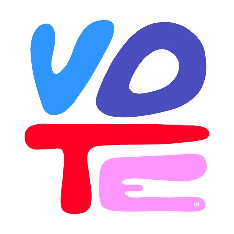 VOTE (2020) Men's T-Shirt by Michael J Hildebrand's Artist Shop