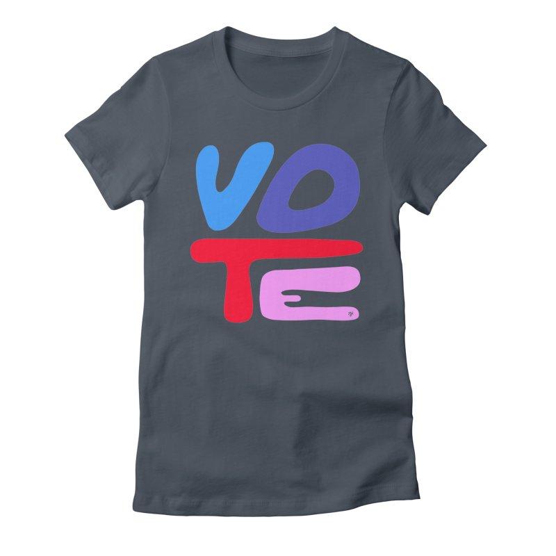VOTE (2020) Women's T-Shirt by Michael J Hildebrand's Artist Shop