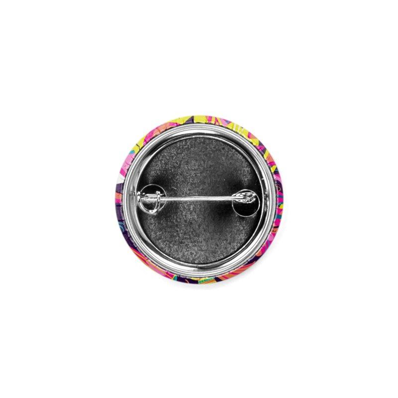 Glitched Accessories Button by Michael J Hildebrand's Artist Shop