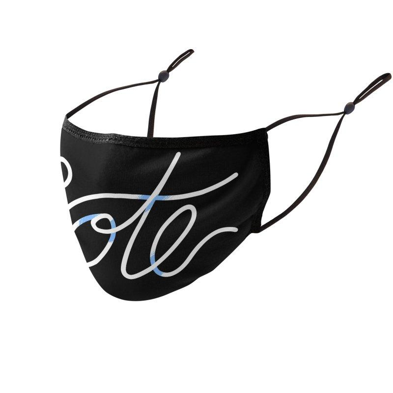 VOTE! (ribbon 2020) Accessories Face Mask by Michael J Hildebrand's Artist Shop