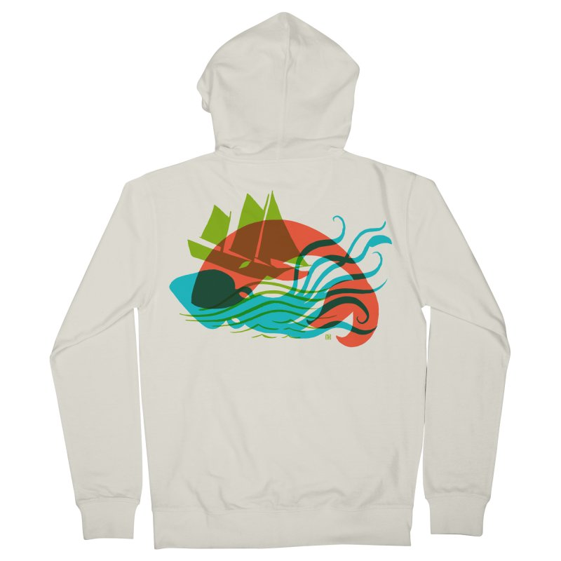 Wrecked Dance Men's Zip-Up Hoody by michaeljhildebrand's Artist Shop