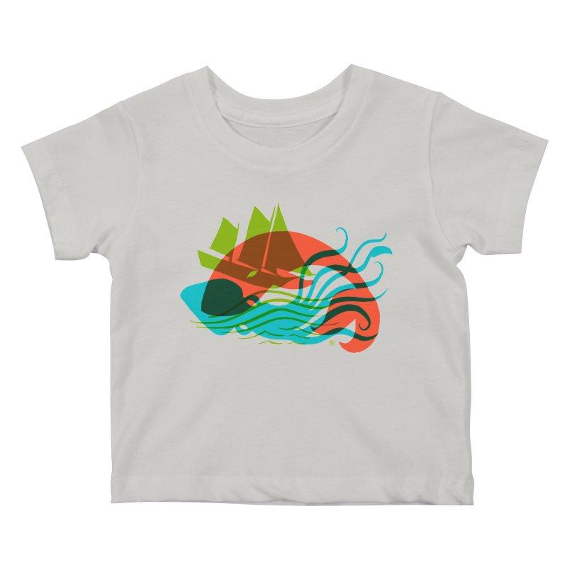Wrecked Dance Kids Baby T-Shirt by michaeljhildebrand's Artist Shop