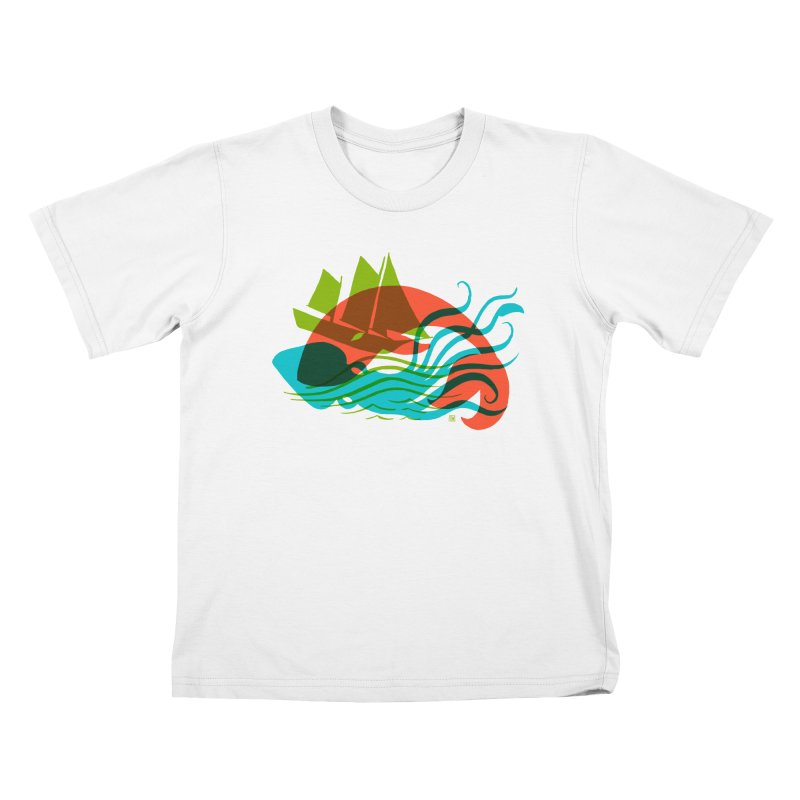 Wrecked Dance Kids T-shirt by michaeljhildebrand's Artist Shop