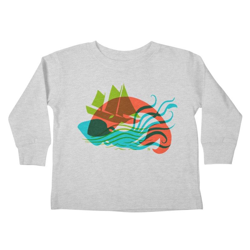Wrecked Dance Kids Toddler Longsleeve T-Shirt by michaeljhildebrand's Artist Shop