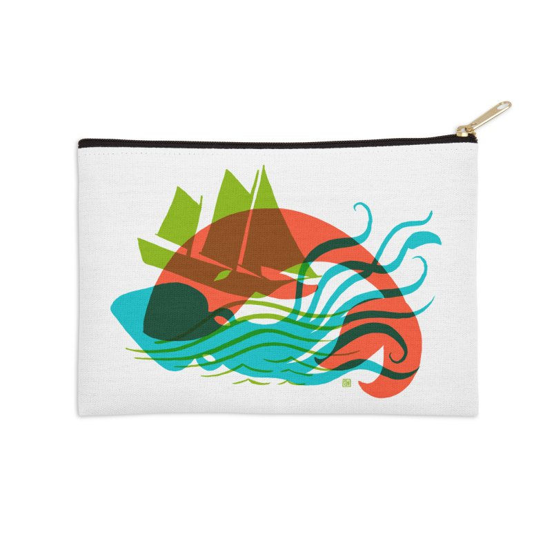 Wrecked Dance Accessories Zip Pouch by michaeljhildebrand's Artist Shop
