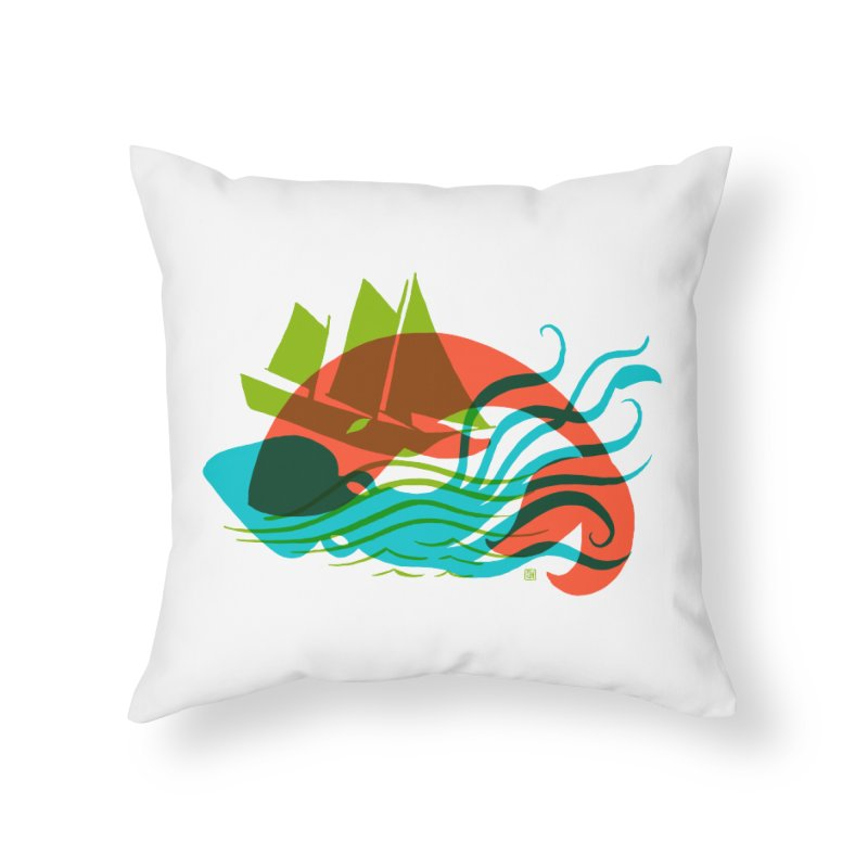 Wrecked Dance Home Throw Pillow by michaeljhildebrand's Artist Shop