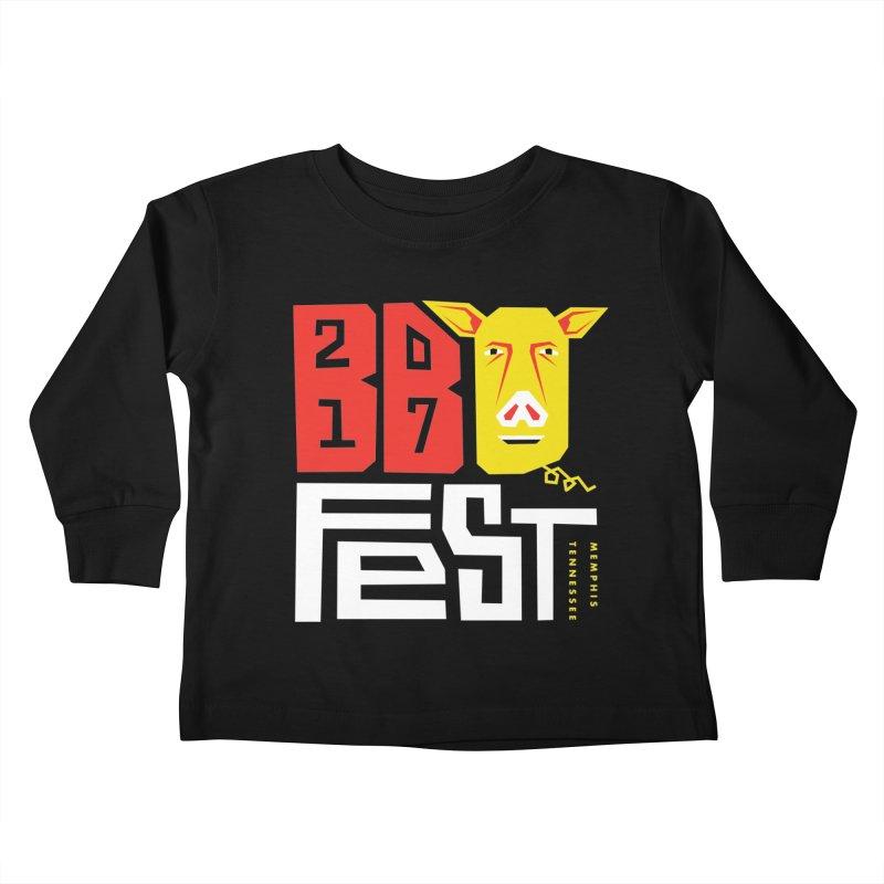 BBQFEST2017 Kids Toddler Longsleeve T-Shirt by michaeljhildebrand's Artist Shop