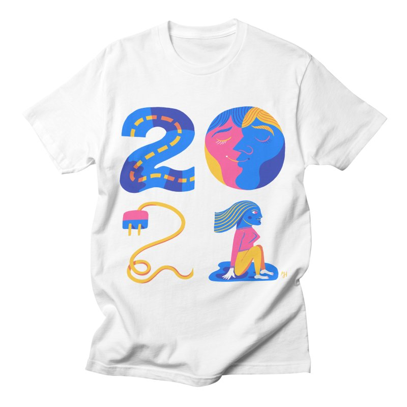 2021 (I long for more... travel, intimacy, connecting & hope) Men's T-Shirt by Michael J Hildebrand's Artist Shop