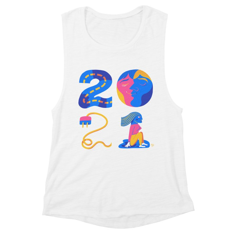 2021 (I long for more... travel, intimacy, connecting & hope) Women's Tank by Michael J Hildebrand's Artist Shop