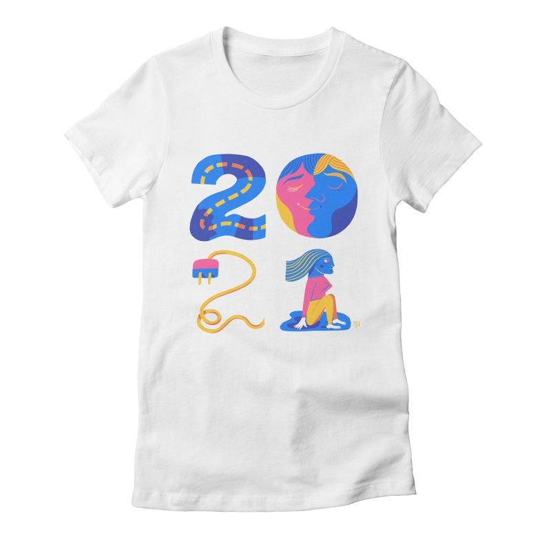 2021 (I long for more... travel, intimacy, connecting & hope) Women's T-Shirt by Michael J Hildebrand's Artist Shop