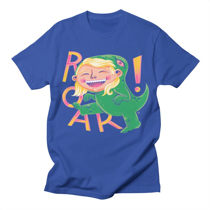 Roar for Four! Men's T-Shirt by Michael J Hildebrand's Artist Shop