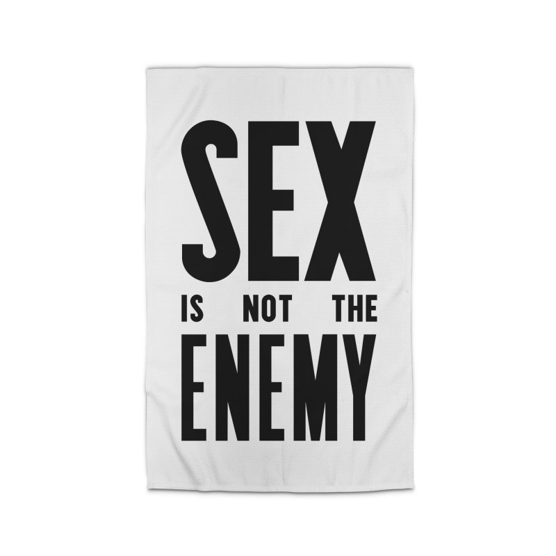 Sex is NOT the Enemy Home Rug by michaeljhildebrand's Artist Shop