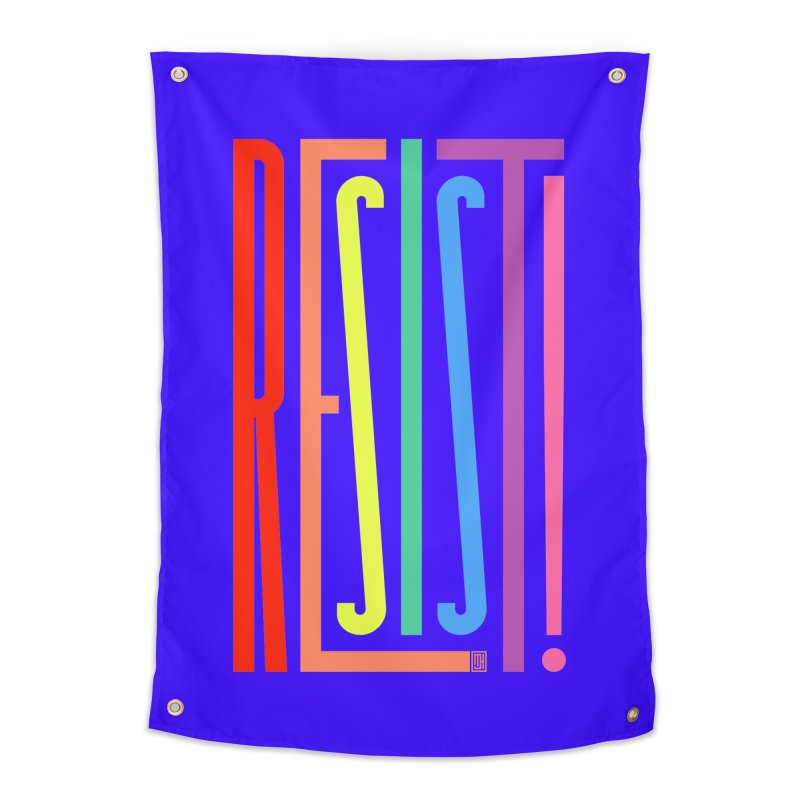 RESIST! (LGBT version) Home Tapestry by michaeljhildebrand's Artist Shop